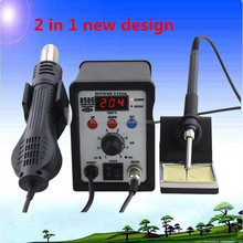 Professional China 8586 Hot Air Lead Free Jewelry Soldering Machine 2 in 1