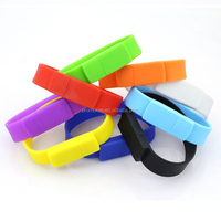 Cheap bulk 2gb bracelet usb flash drive memory