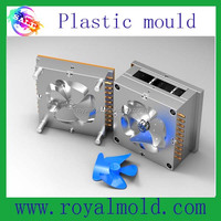 Custom Mould 2015 Factory supply ceiling ventilating fan parts plastic injection mould