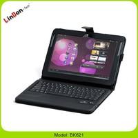Leather case keyboard for Samsung Galaxy N8000, Keyboard for Samsung Galaxy N8010, 10.1 inch tablet keyboard case