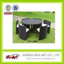 china manufacturer wholesale import cheap price sale round outdoor patio modern rattan garden furniture