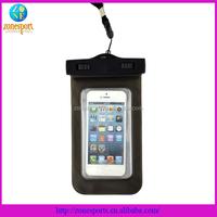 hot selling pvc waterproof mobile phone bag waterproof case for iphone 5