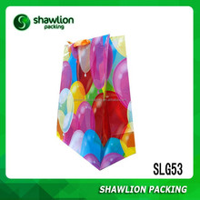 Many Colors Air Balloon Custom Paper Bags with Logo