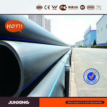 PE materials Sewer Pipe with range of fittings