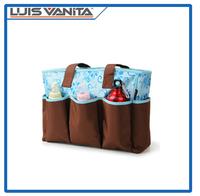 Elegant Tote and Satchel Polyester Diaper Handbag