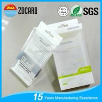 Waterproof 4C printing custom plastic packaging box for phone case