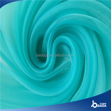 2015 hot selling 20d Polyester Organza Fabric