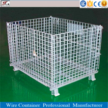 Folding strong steel wire storage metal cage