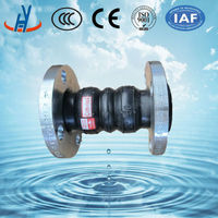 Dual-ball Rubber Expansion Joint