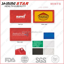 JS-12001 2015 new design promotional breath freshener tic tac mints