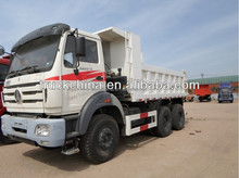 north benz truck 6x4 tipper truck capacity 40 ton mining tipper truck for sale