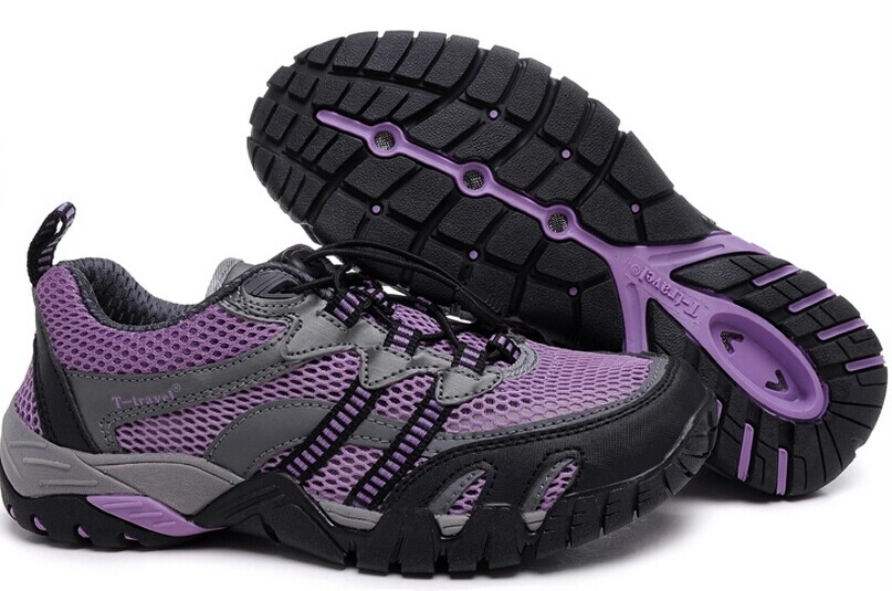 Men And Women Hiking Shoes Waterproof Power Outdoor Athletic Hiking Shoes 2014 Summer Latest ...