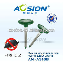 Patented Solar Snake Repeller with LED Light AN-A316B