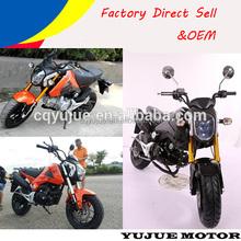 Gas powered china racing motorcycle/mini moto/moped bike