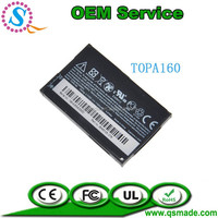 Factory OEM Original Quality 1100mAh TOPA160 Battery For HTC Touch Diamond 2 II T5353 Pure Cell Phone