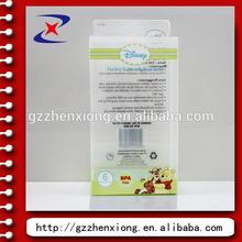 guangzhou fábrica de caja de plástico con tapa