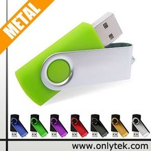 Top Seller!! Colorful promotional gift Good Quality Swivel USB Flash Drive