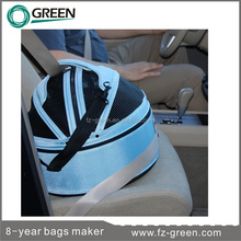 Pet booster box dog travel car seat carrier