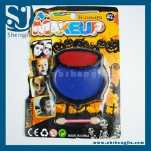 Trade Assurance Halloween make up Fancy Tearful Clown pot Face Paint Kit Halloween Makeup