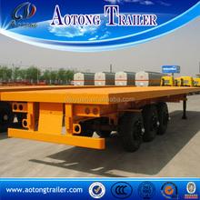 Venda quente 53ft trailer container para venda