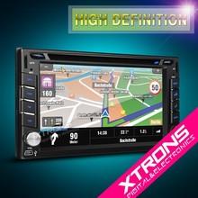 "TD616GT-6.2"" 1080P Video HD Digital Touch Screen Dynamic UI Double Din DVD Player GPS"