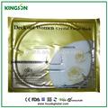 blanqueamiento de oro de cristal colágeno máscara facial para el tratamiento facial cuidado de la piel