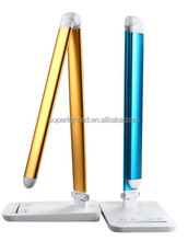 2015 new fashionable color adjustable touch dimming led reading table lamp desk lamp