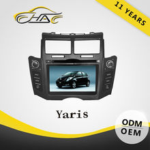 touch screen car dvd for toyota yaris oem car radio mp3 fm auto gps