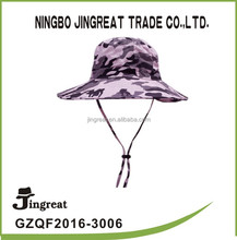 2015 fashionable camouflage hat floppy boonie hat black camo camouflage bucket cap new