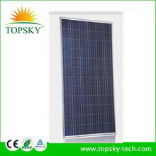 Topsky 110W 18V Poly Solar Panels Polycrystalline Silicon PV Module For 12V Home System Led Lights