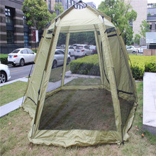Popular Hiking & Camping tent for Family with dia11mm fiberglass pole IM-A401