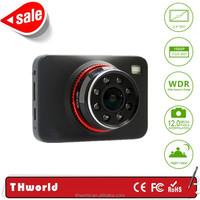 T801 dash cam with 12 IR led hd video camera driver recorder hd car dvr camera car black box