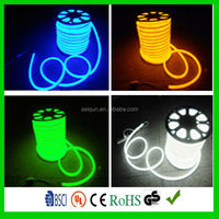 Waterproof Flexible led replacement neon tubes , neon tubes colored , rings neon light