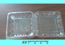 Plastic Blueberry fruit blister packing tray with lid