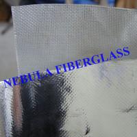 Fiberglass Fabric / Aluminum Foil Coated / Plain Satin Twill Weave / Woven Cloth