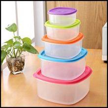 OEM christmas Square Plastic Food Storage Containers for sale/OEM Plastic Container food storage food grade plastic container