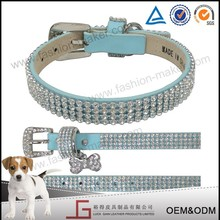 Luckgain leather High quality pet dog collar making supplies