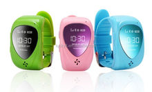GPS Positioning Smart Watch for Kids Anti-lost Pedometer Children Locator Tracker Wrist Watch for iPhone Android