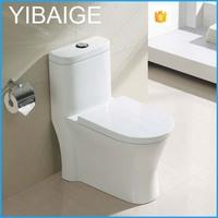 Chinese Chaozhou Ceramic Washdown One Piece Toilet