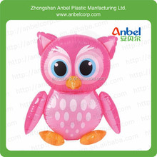 INFLATABLE PINK OWL BIRD BLOW UP ANIMAL INFLATE PARTY TOY