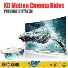 Amusement park Pneumatic 5d 7d 9d 12d xd motion Cinema Rides for sale