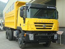 6x4 iveco genlyon hongyan camion à benne basculante camion à benne basculante lourd