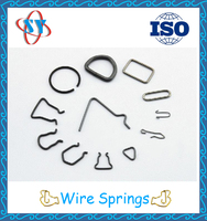Custom Blackening Small Wire Spring for Spare Parts