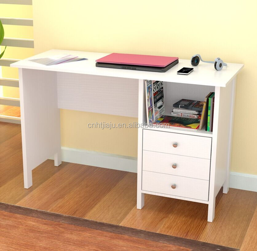 White Simple Home Used puter Desk High Quality Laptop