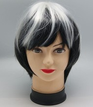 football sports fan wig expression hair attachment
