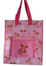 cheap fashion 2014 pp non woven bag/ non woven carpet bag/ tshirt pp non woven bag for promotion originated from vietnam