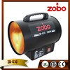 Hot Sale 10KW ZOBO Gas Room Heater Made From China