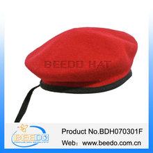 fashion custom wholesale wool felt cheap berets for woman