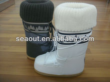 latest women moon boots shoe snow