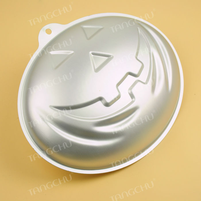 Halloween Series Pumpkins shapes 3D aluminum alloy cake pan cake molds